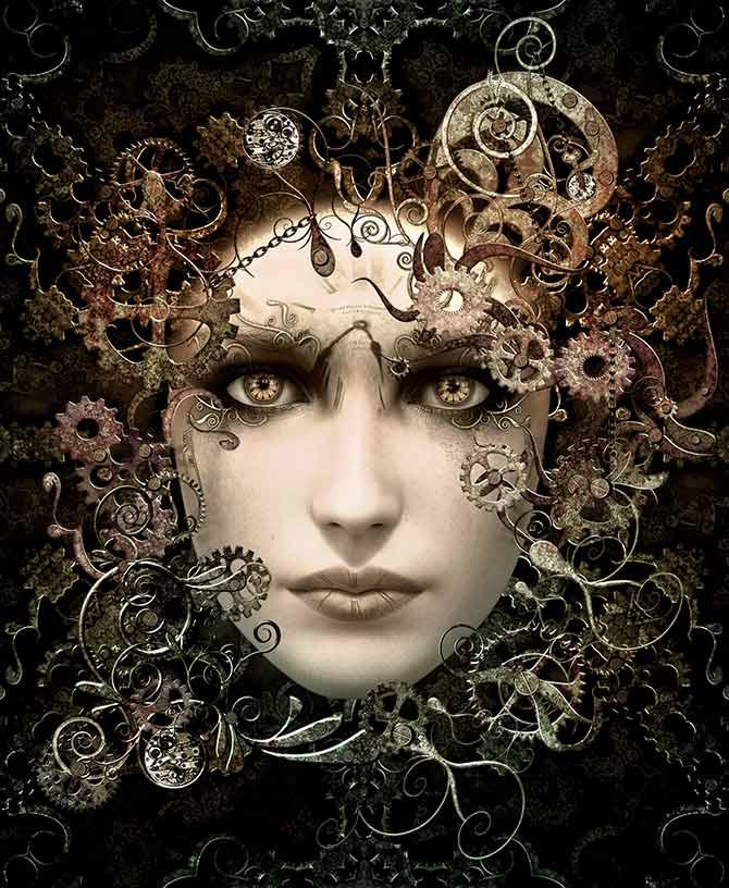 steampunk fantasy artwork
