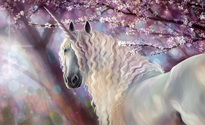 unicorn fantasy artwork