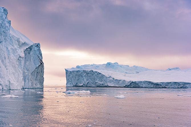 amazing adventures amongst icebergs