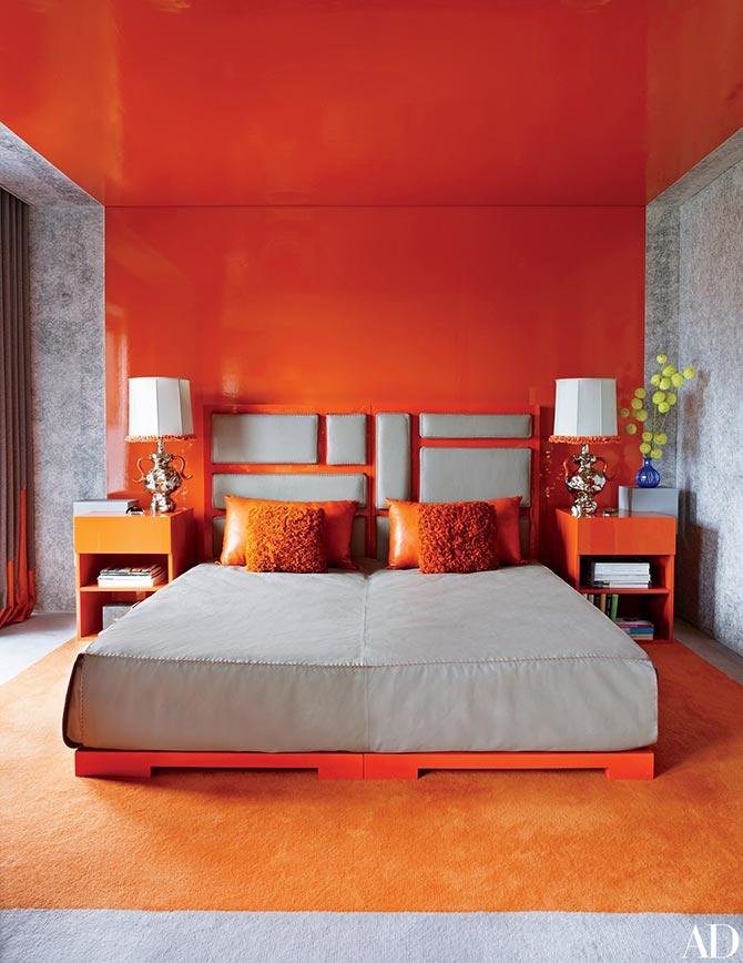 orange decor and design
