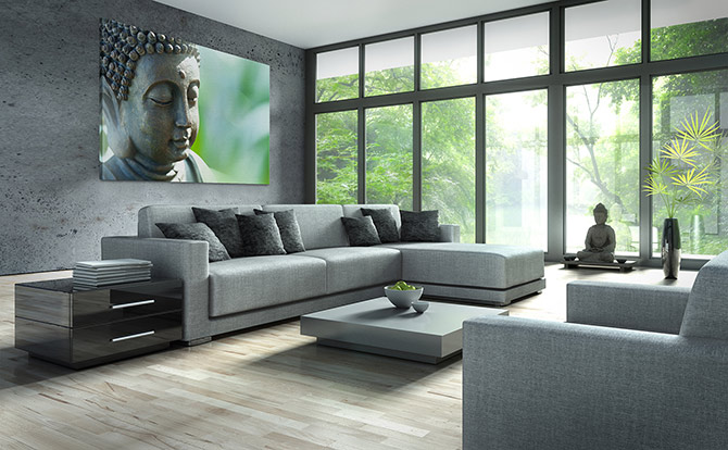 relaxing decor and design