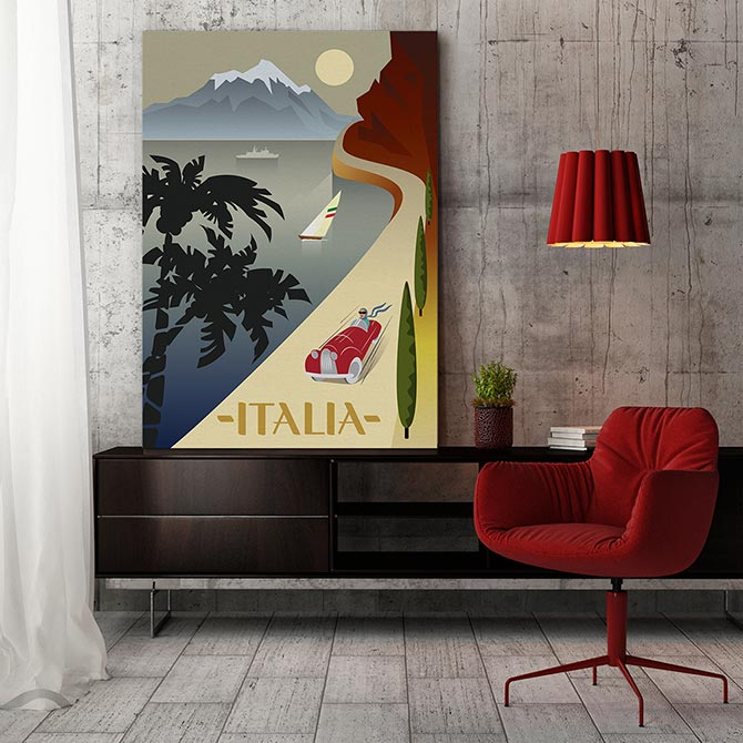red decor and design