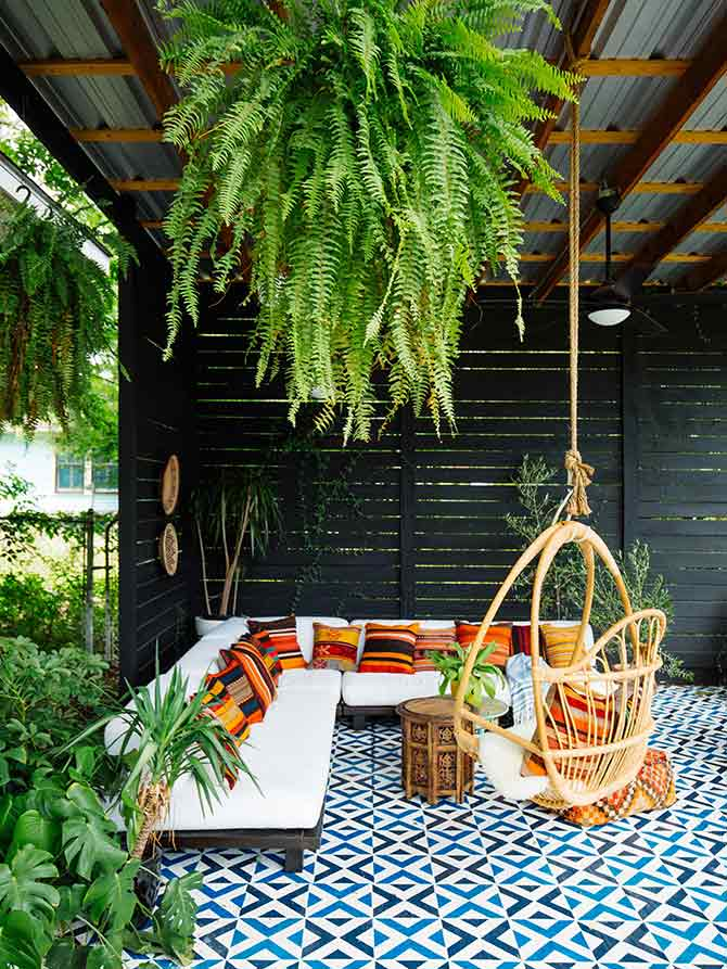 decor and design for patios