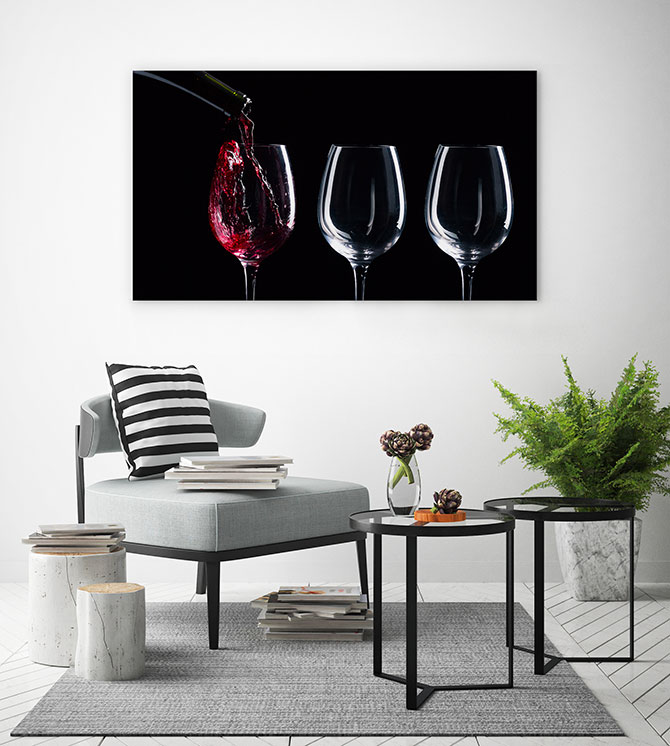 photographic art of wine