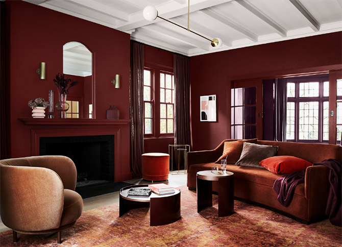 dulux interior colour trends