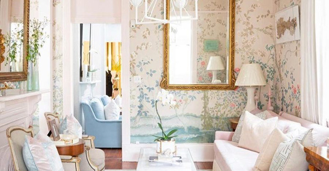 pink decor style