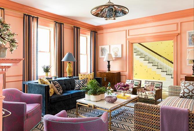 colourful decor style