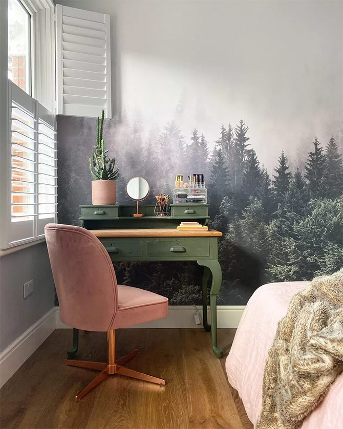 alpine bedroom wall decor