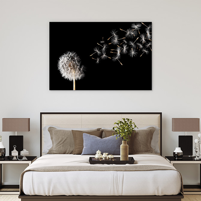 bedroom wall decor art print