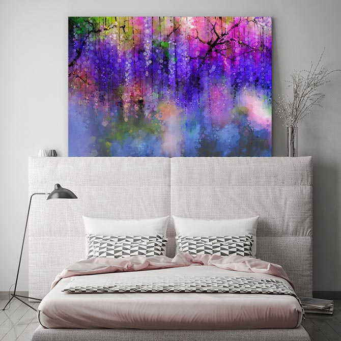 summer bedroom wall decor