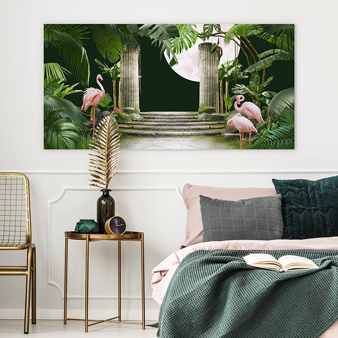 art deco bedroom wall decor