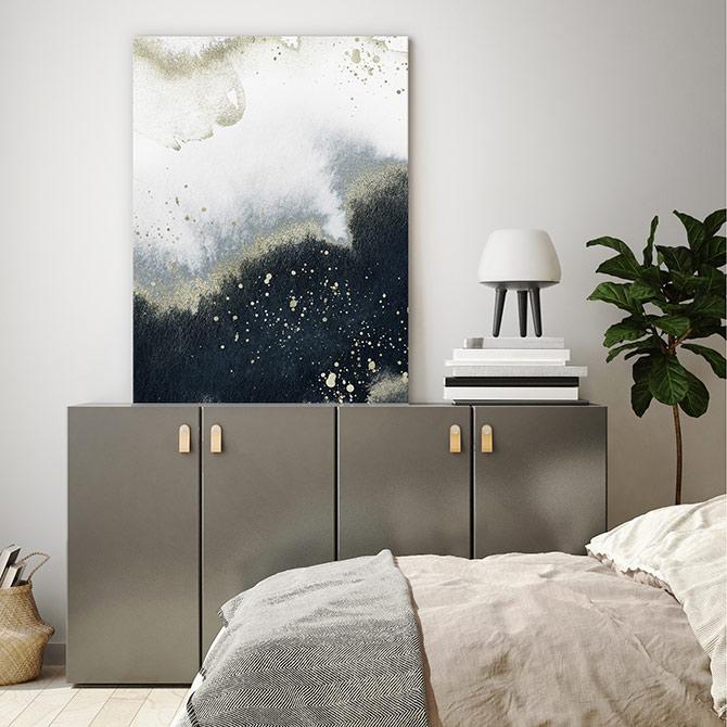 bedroom wall decor art