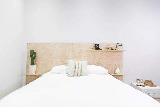 wood bedroom wall decor
