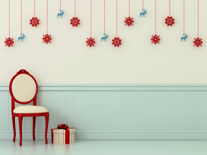 Christmas Decorating Ideas To Stay Clutter Free Wall Art Prints