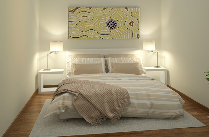 Bedroom art design ideas - go hotel