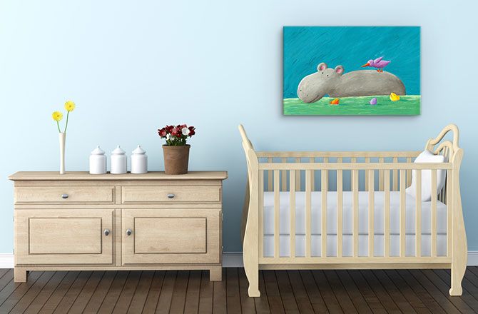 Bedroom Design Art Ideas For Kids