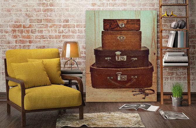 vintage DIY home decor