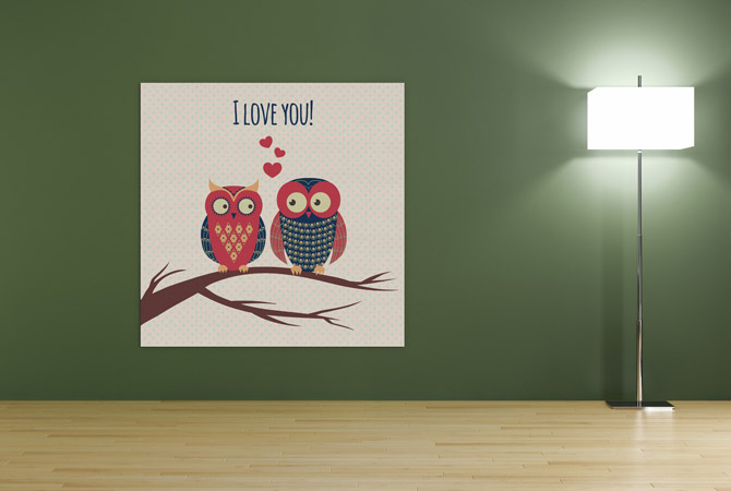 Celebrate love with romantic art