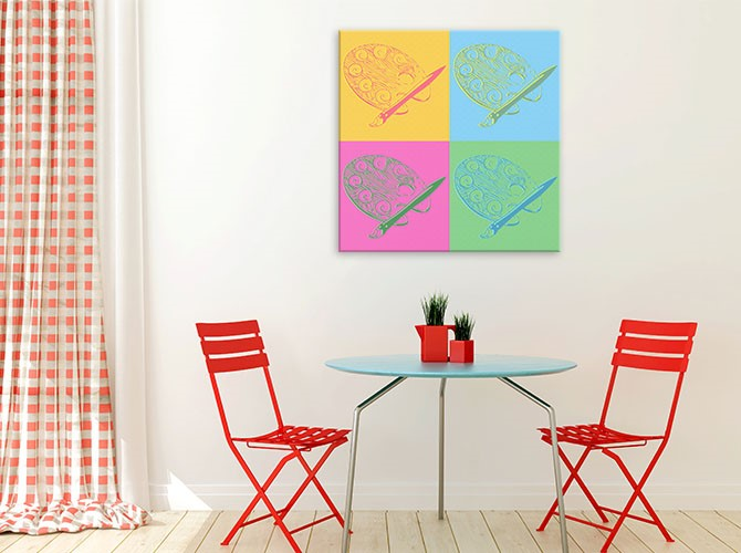 Andy Warhol Paintings - Pop Art - Granny Flat