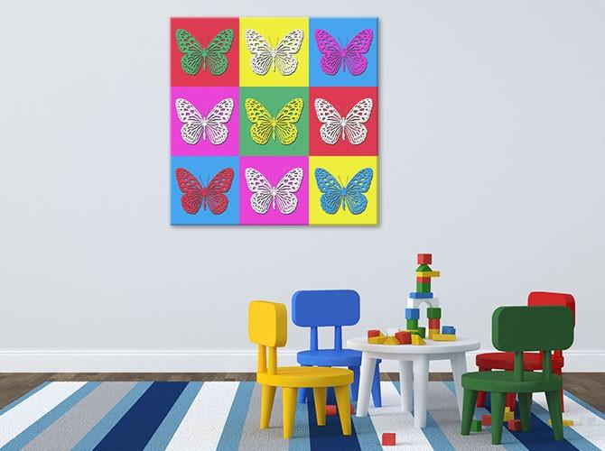 Andy Warhol Paintings - Pop Art - Children's Room