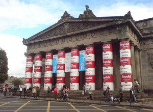 Andy Warhol Paintings - Pop Art - Warhol Exhibition at the Royal Scottish Academy