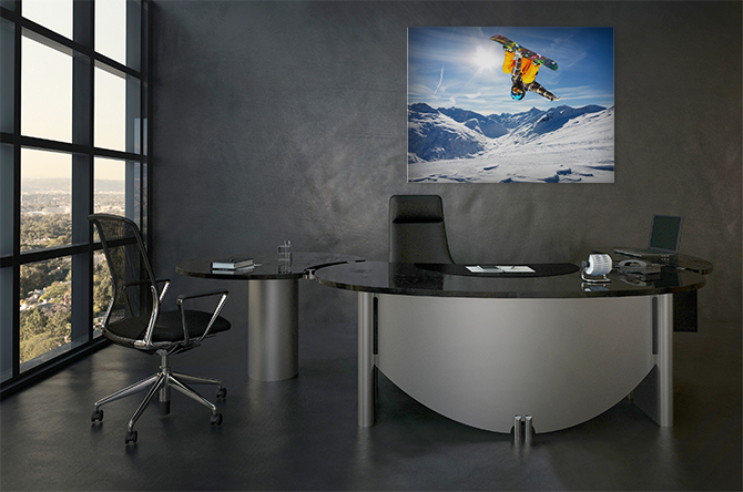 Office Decorating Ideas - Boss Will Love - Man's Office