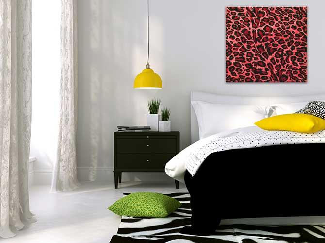 Bedroom Decoration Ideas - Animal Print
