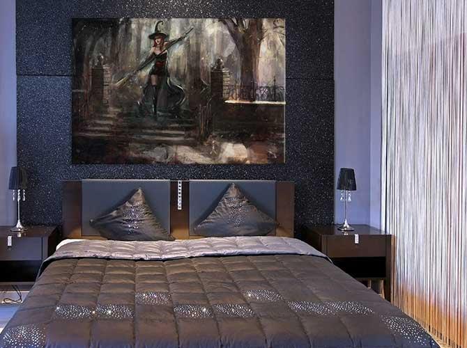 Bedroom Decoration Ideas - Gothic Romance - Vampires