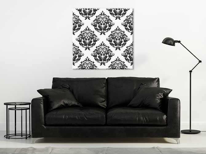 Art Deco Interior Design - Minimalism - Black And White