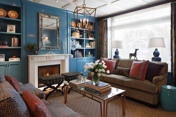 Design Inspiration - Blue Bold Colour