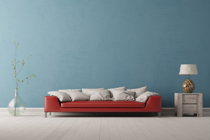 Colour Schemes - Red Blue Grey