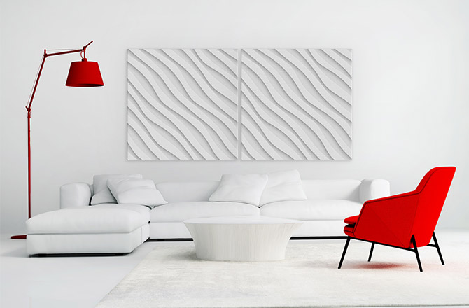 Colour Schemes - Red And White