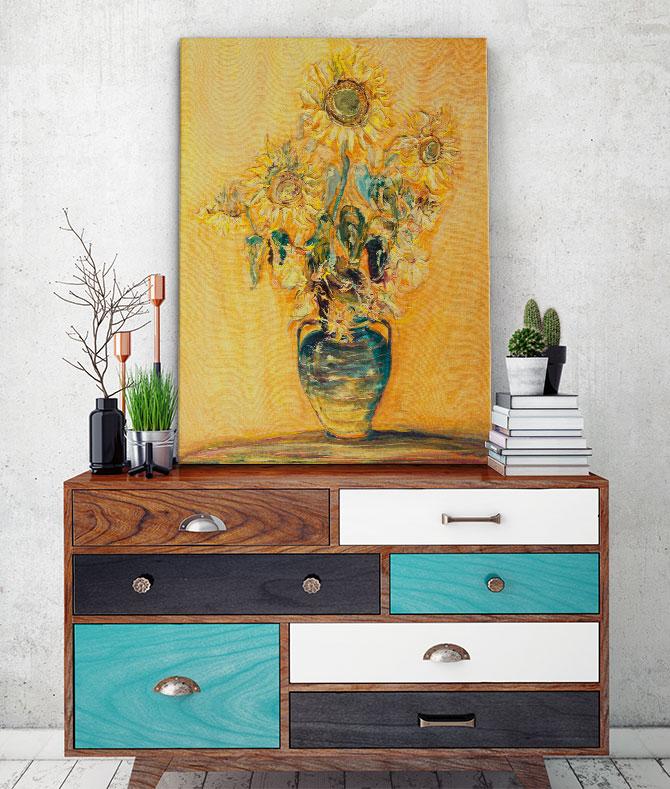 Art Museum - Sunflowers
