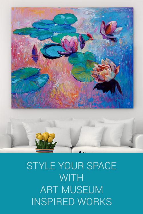 用艺术博物馆灵感作品塑造你的空间