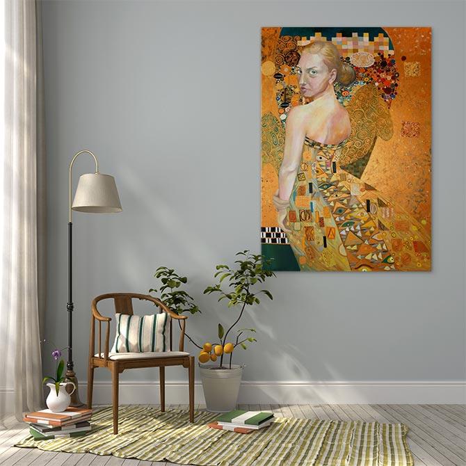 艺术博物馆 - 金的女人