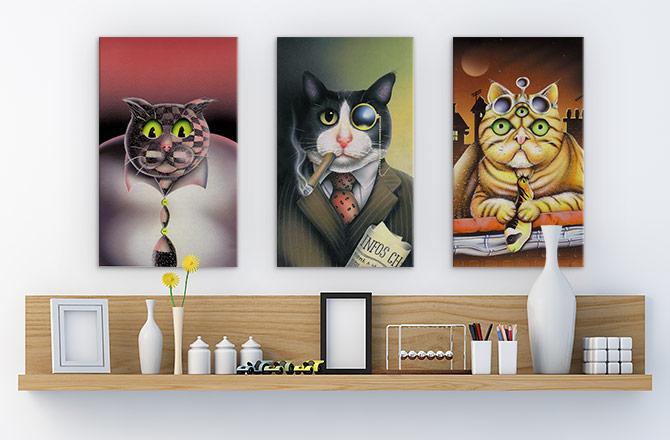 Surreal Art - Cats