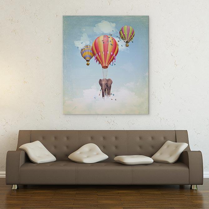 Surreal Art - Balloons