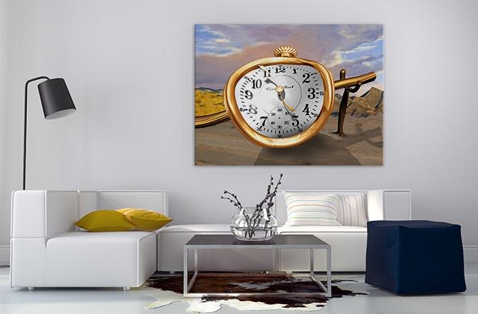 Surreal Art - Clock