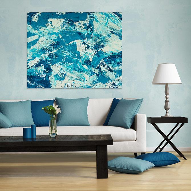 Colour Palettes - Scuba Blue