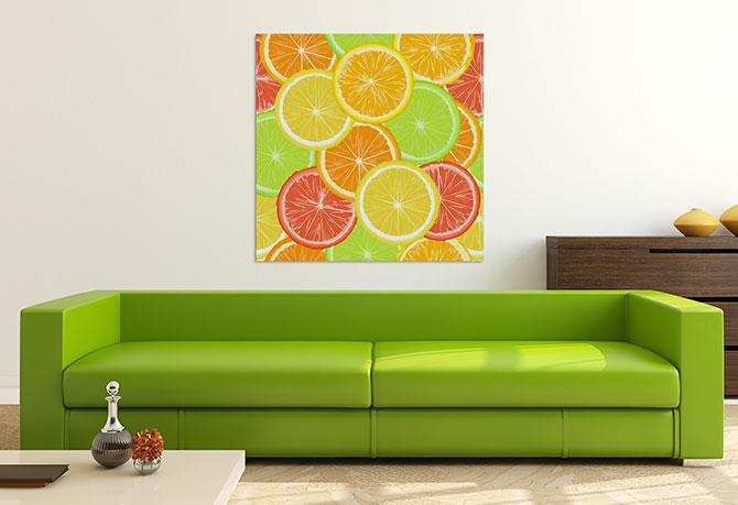 Living Room Ideas - Citrus