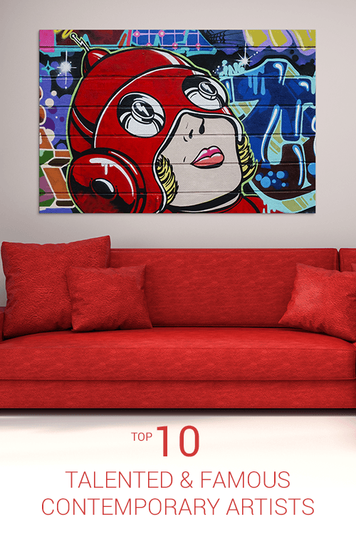 Top 10 Famous Contemporary Artists | Wall Art Prints