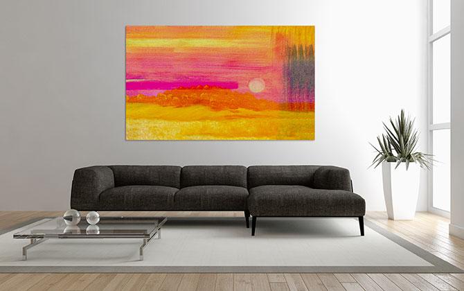 Minimalist Art - Heat