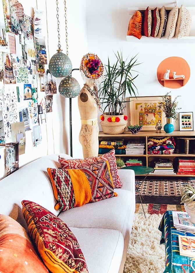 Living Room Ideas - Ethnic