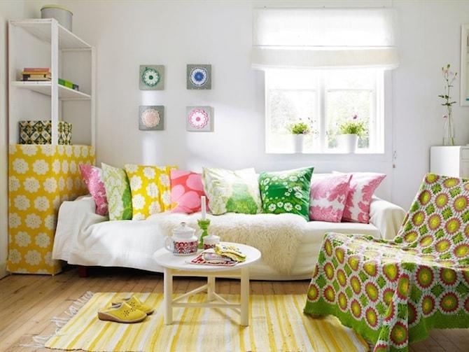 Living Room Ideas - Embrace Bold Colours