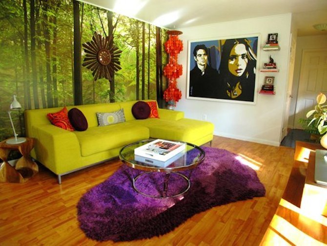Living Room Ideas - Retro
