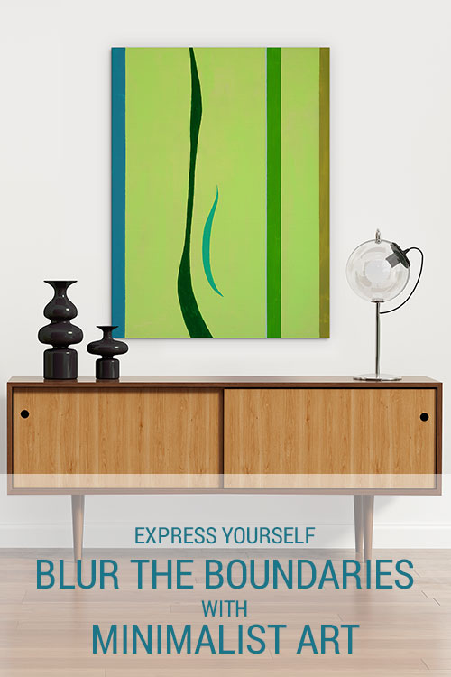 Express Yourself: Blur The Boundaries With Minimalist Art