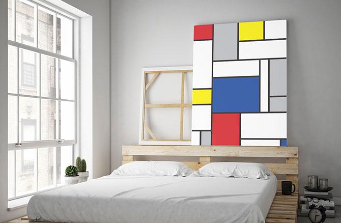 Minimalist Art - Mondrian