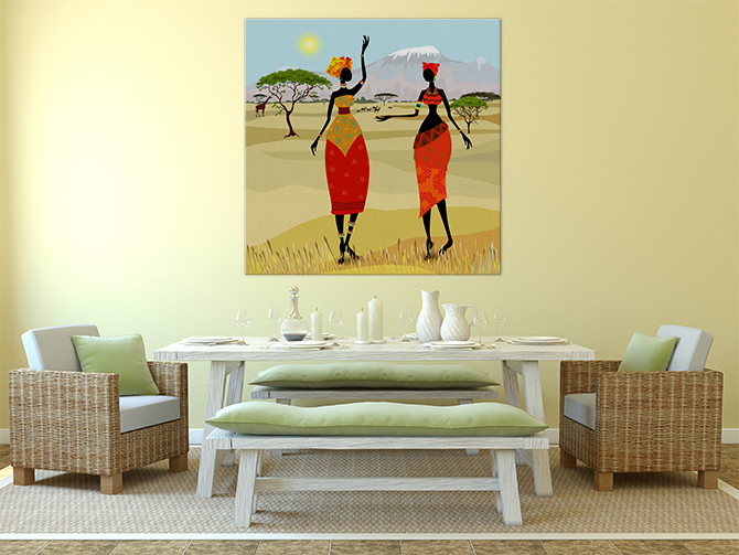 Different Types Of Art - African