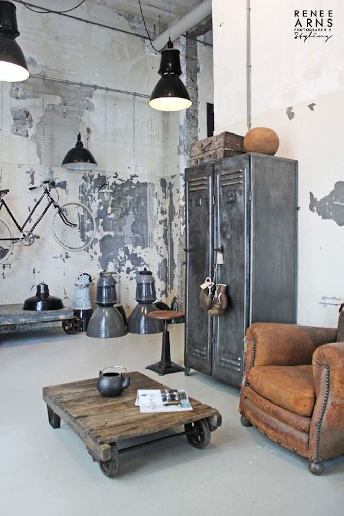 Interior Design Styles - Industrial