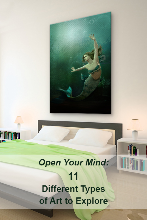 Open Your Mind: 11 Different Types Of Art To Explore